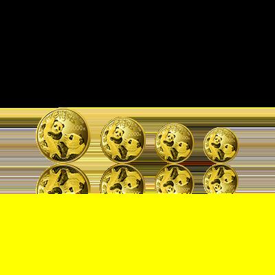 2021版熊猫精制金币