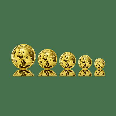 2021版熊猫普制金币